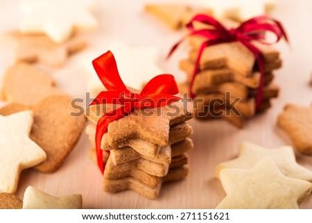 White, ginger, love. - stock photo