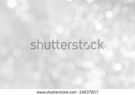 white glitter - stock photo