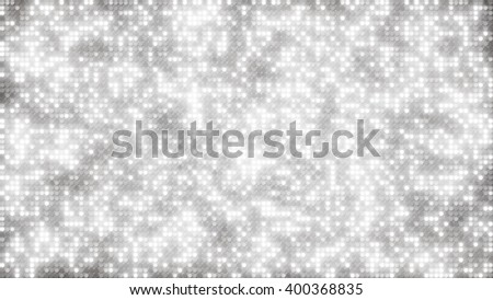 white glitter dots. computer generated abstract background - stock photo