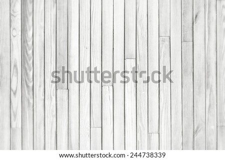 White gray wood plank vertical texture background, blur and grain old vintage style for design - stock photo