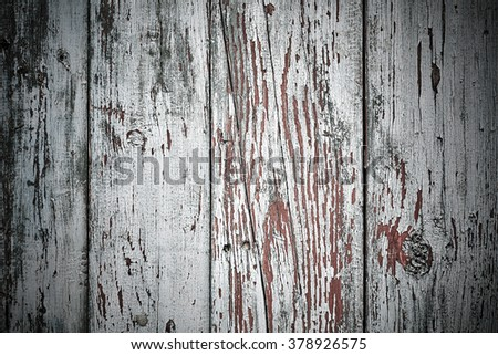 white, grey wood texture. background old panels old paint vignette