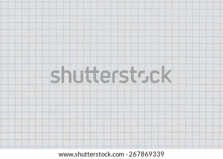 White Grid Paper Texture - stock photo