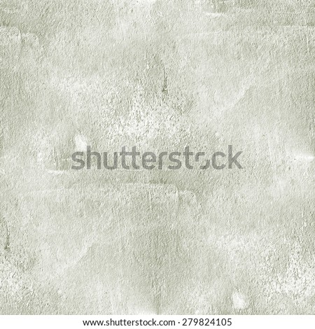 white grunge background, old cement wall texture, seamless pattern  - stock photo