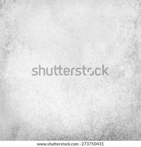 white grunge wall - stock photo