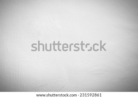 White Gypsum Wall Texture - stock photo