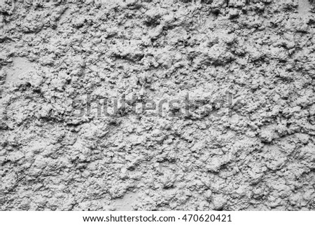 White handmade abstract cement plaster wall background