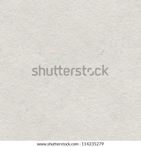 White handmade paper texture or background - stock photo