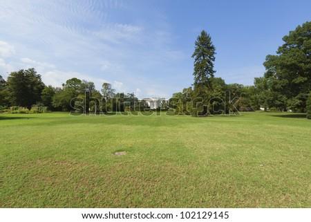 White House in Washington, DC - stock photo
