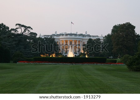 White house, Presidential Residence in Washington, DC.