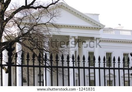 White House (Washington DC) - stock photo