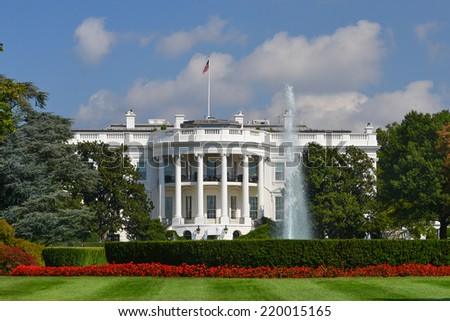 White House - Washington DC, United States of America - stock photo