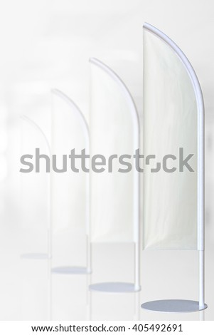 white j-flag for Graphic Design and Clipping path. Macro with extremely shallow dof - stock photo