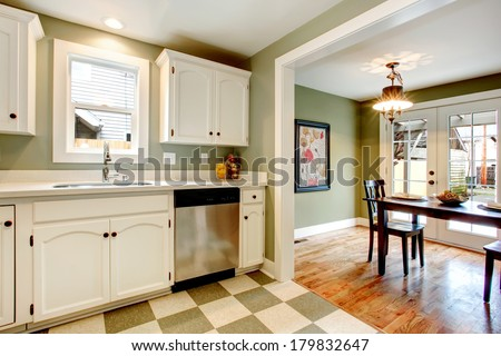 light kitchen cabinets with ceramic tile floors white kitchen cabinets blends perfectly light stock photo