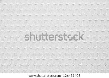 White Knitted Fabric Texture, Background