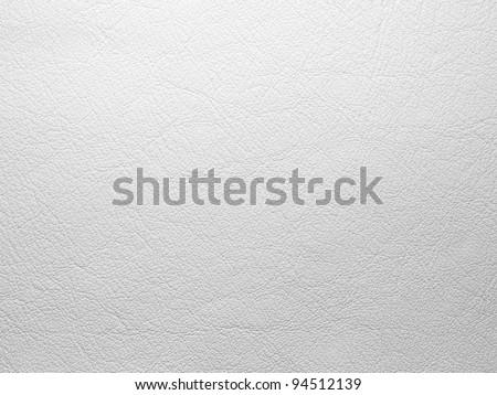 White leather background - stock photo