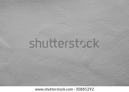 White leather texture - stock photo