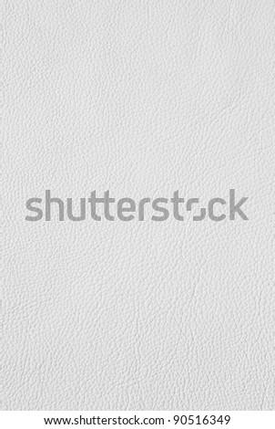 white leather texture - stock photo