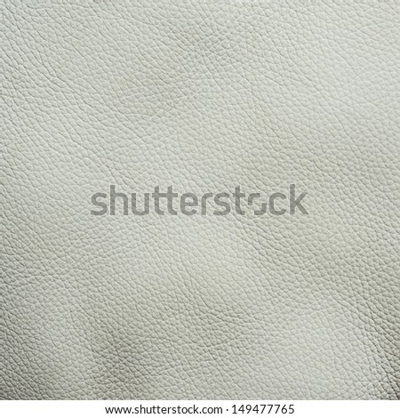 White leather texture fragment as a background texture - stock photo