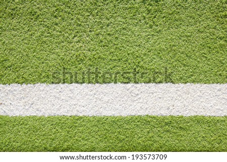 White line astro Football Pitch - stock photo