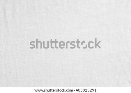 White Linen Background./ White Linen Background - stock photo