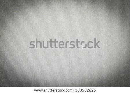 white linen fiber backround with vertical lines pattern texture - stock photo