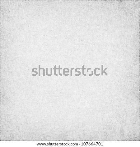 white linen texture as grunge background - stock photo