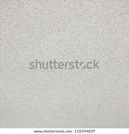 white linen texture background with grid pattern - stock photo
