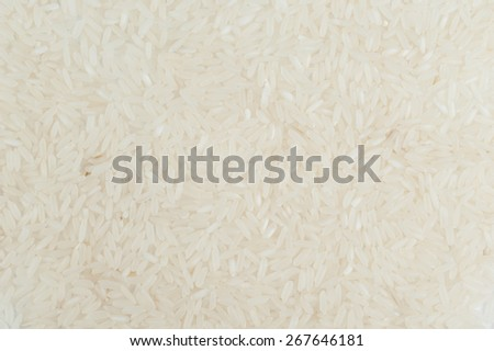 white long grain rice texture  jasmine basmati rice for background - stock photo