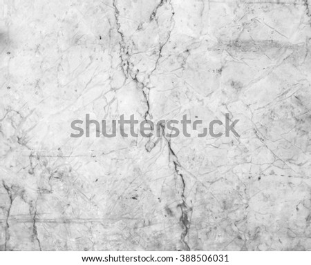 White marble patterned texture background. Marbles of Thailand, Black and white.for design