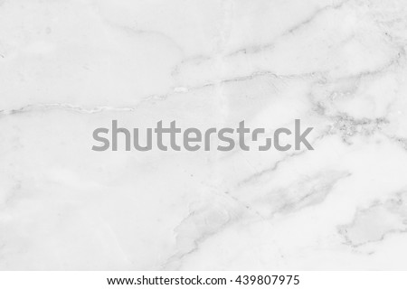 White marble, stone pattern texture used design for background - stock photo