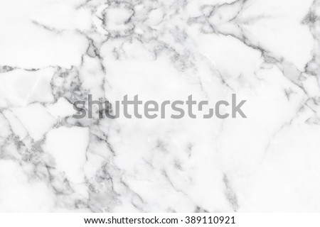 White marble texture with natural pattern for background or design art work. - stock photo
