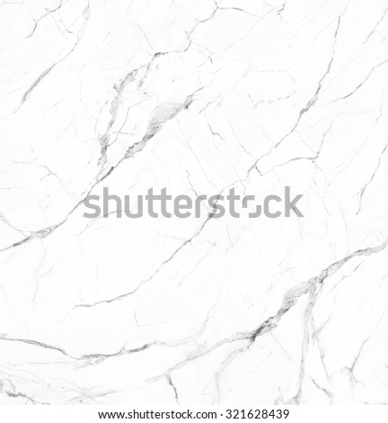 White marble with veins natural stone texture background - stock photo