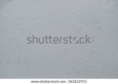 White mortar gray wall texture. A background from paint. - stock photo