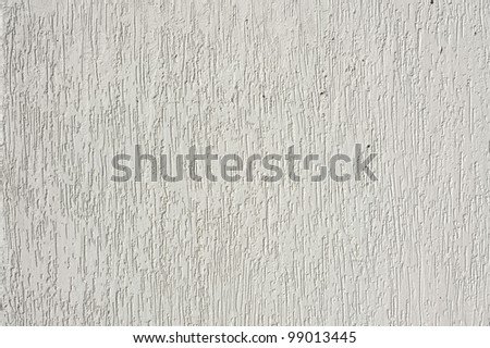 White mortar wall texture - stock photo