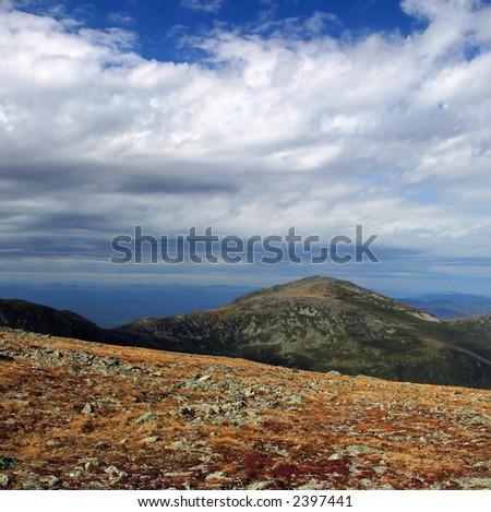 White Mountains - stock photo