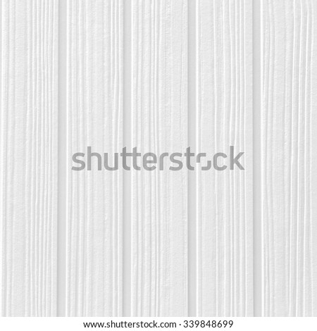 White natural wood texture and seamless background - stock photo