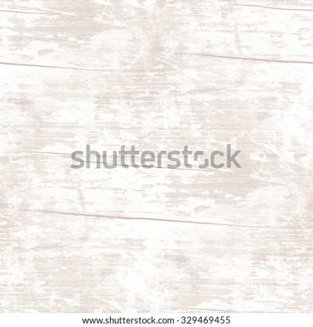 white old wooden surface - seamless grunge texture - stock photo