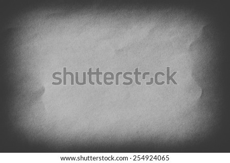 White page of paper texture or background - stock photo