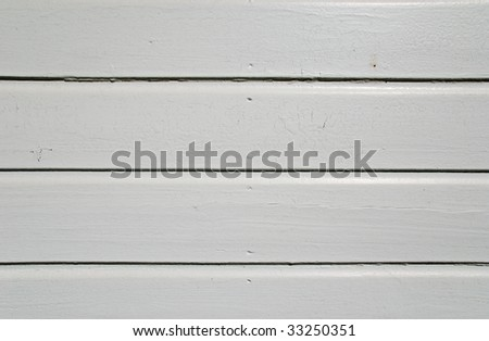 White painted boards in a shed as a texture background. - stock photo
