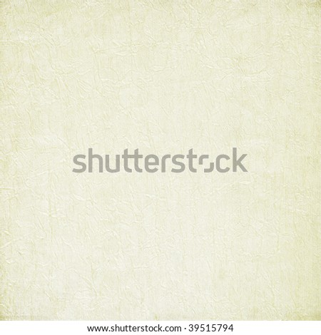 White painted crushed fabric background - stock photo