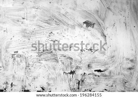 white painting grunge texture - stock photo