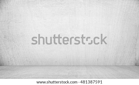 white painting on wood board background