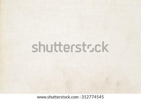 white paper background beige linen texture knit grid pattern - stock photo