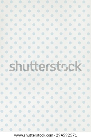 White paper background with cyan pattern - stock photo