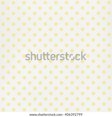 White paper background with yellow dot pattern - stock photo