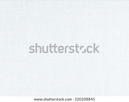 white paper background woven fabric texture bright blue grid pattern - stock photo