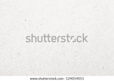White Paper, Cardboard Texture, Pattern - stock photo
