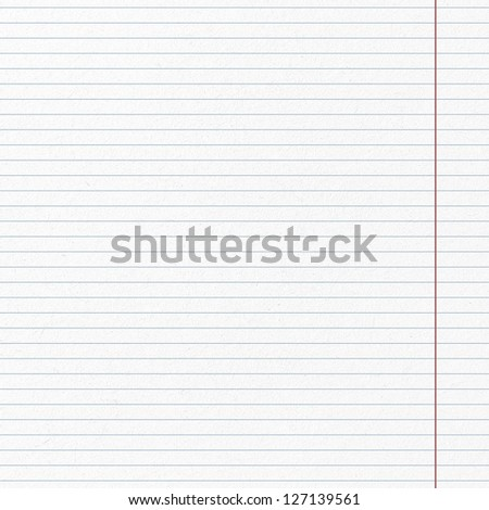 White paper. Line pattern page of paper - stock photo