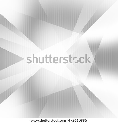 white paper texture modern background abstract lines and overlapping triangle shapes with grid pattern to design new technology brochure or business card template template