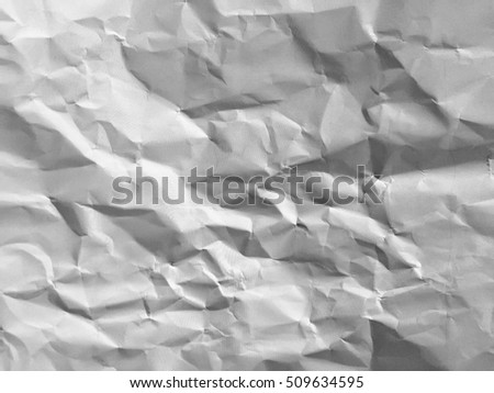 white paper wrinkled,abstract background texture